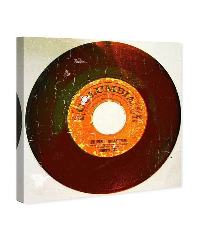 "Oliver Gal Rebel Vinyl Canvas Art, 16"" x 16"""
