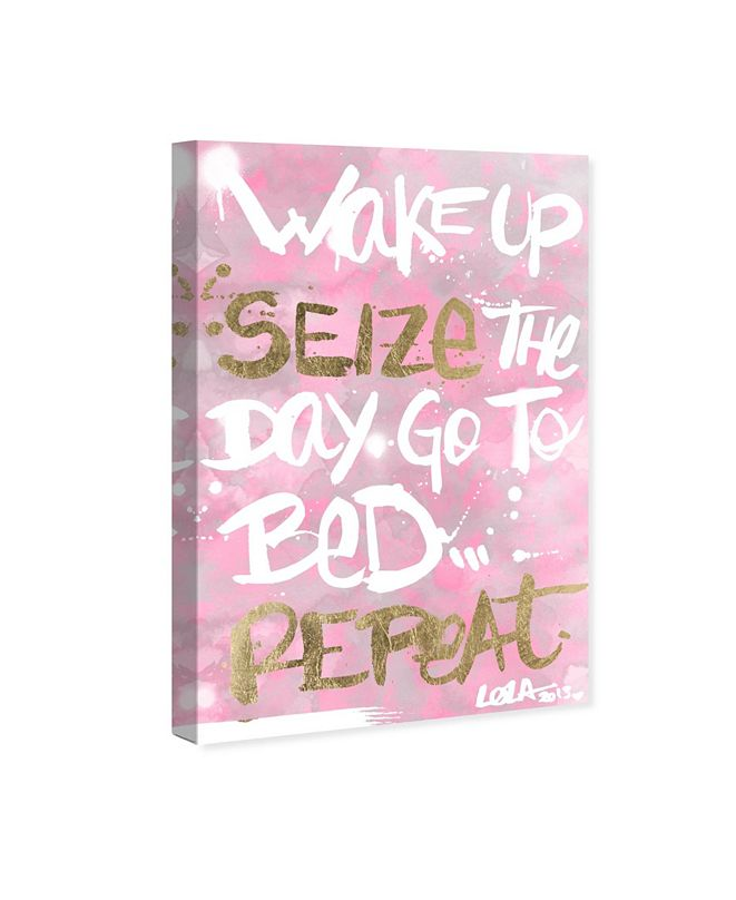 "Oliver Gal Seize The Day Rose Canvas Art, 10"" x 15"""