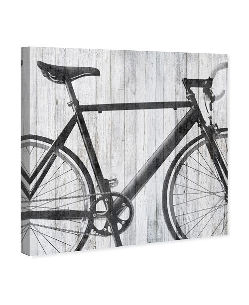 """Oliver Gal Mode Bicycle Canvas Art, 24"""" x 24"""""""