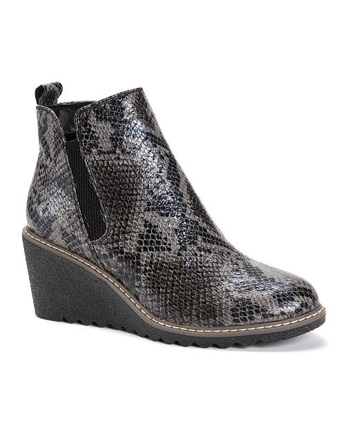 Muk Luks Women's Dionne Wedge Boots