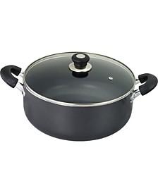 Kitchen Sense Heavy Duty Non-Stick Sauce Pot with Glass Lid