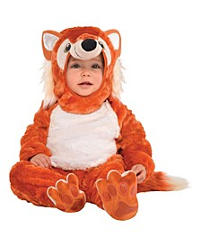 Infant Boys and Girls Furry Fox Costume