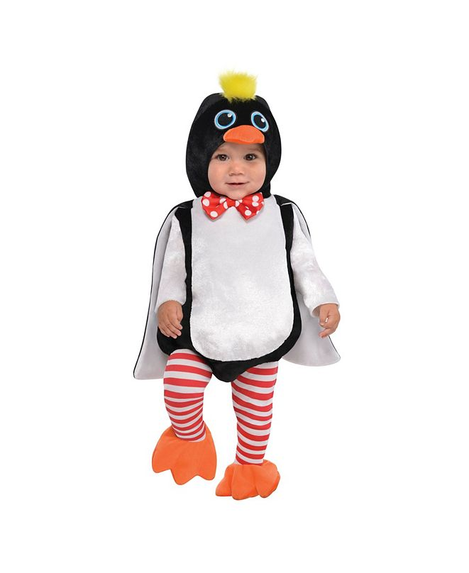 Amscan Baby Boys and Girls Waddles The Penguin Infant Costume