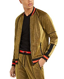 INC Men's Disco Track Jacket, Created For Macy's