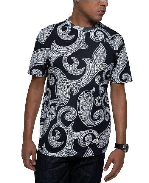 Sean John Men's Paisley T-Shirt
