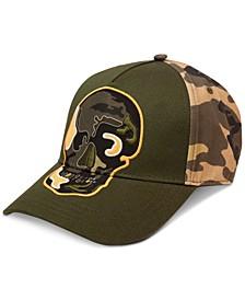 Men's Camo Skull Hat