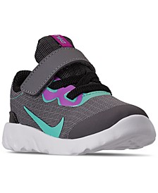 Toddler Girls Explore Strada Stay-Put Closure Casual Athletic Sneakers from Finish Line