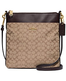 New Signature Jacquard Kitt Crossbody