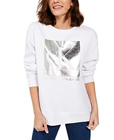 Oversized Fleece Logo Sweatshirt