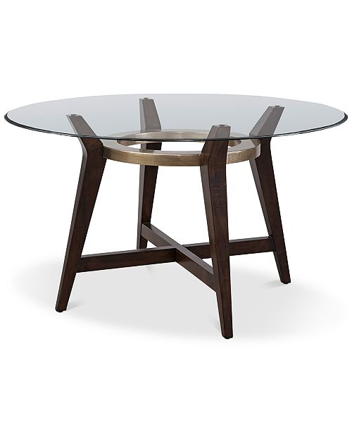 """Furniture Elston 54"""" Round Dining Table"""