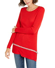 INC Asymmetrical Embellished Tunic, Created for Macy's