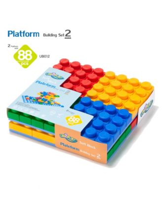 UNiPLAY 88 Basic Mix Blocks and 2 Piece Set Platforms