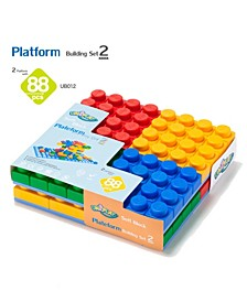 88 Basic Mix Blocks and 2 Piece Set Platforms