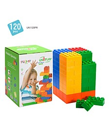 40 Large and 80 Small Plump Series 120 Piece Set