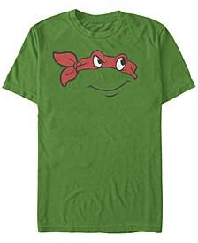 Nickelodeon Teenage Mutant Ninja Turtles Raphael Big Face Short Sleeve T-Shirt