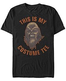 Star Wars Men's Chewbacca Halloween Costume Short Sleeve T-Shirt