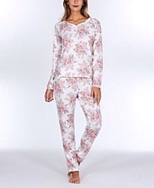 Elie Sweater Knit Pajama Set