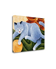 """Cats and Pots by Kate Holmes Fine Art Giclee Print on Gallery Wrap Canvas, 23"""" x 18"""""""
