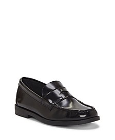 First Semester by Unisex Little Kids and Big Kids Classic Penny Loafer Silhouette