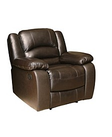 CLOSEOUT! Paloma Leather Recliner