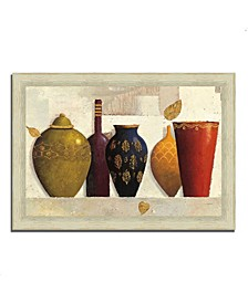 "Jeweled Vessels by James Wiens Framed Painting Print, 42"" x 30"""