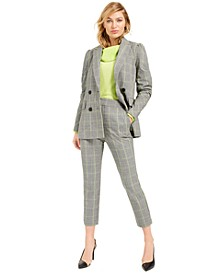 Becca Tilley x Powersuit Plaid Blazer, Sweater and Pants, Created For Macy.s