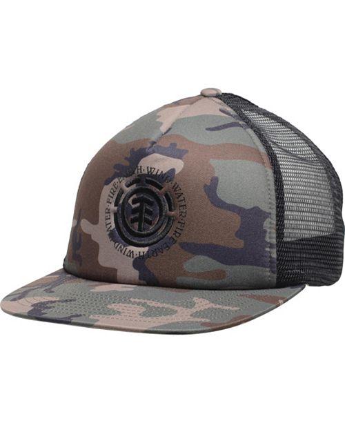 Element Men's Seal Logo Snapback Trucker Hat