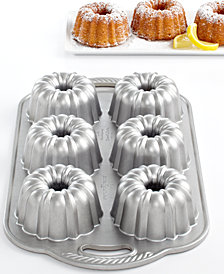 Nordic Ware Anniversary 6 Cavity Mini Bundt Pan