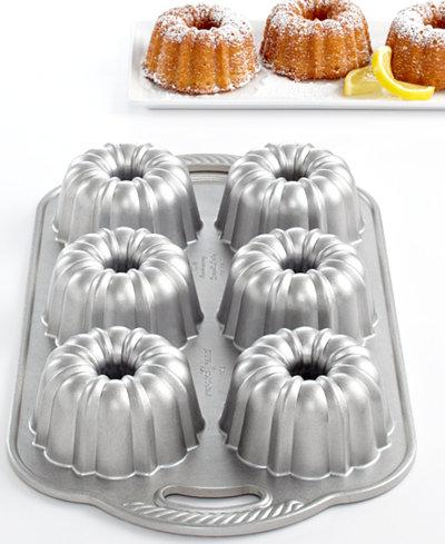 Nordic Ware Anniversary 6 Cavity Mini Bundt Pan