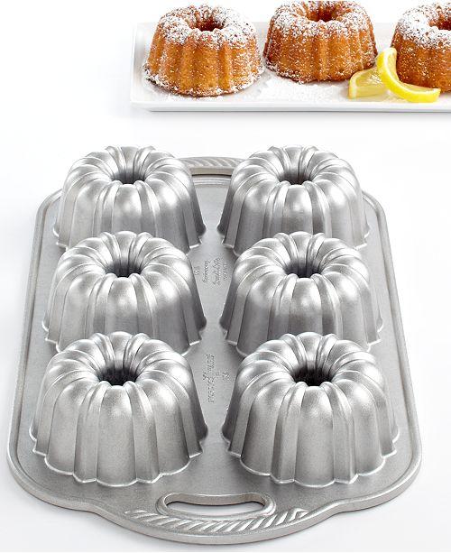 Nordic Ware Anniversary 6 Cavity Mini Bundt Pan Amp Reviews