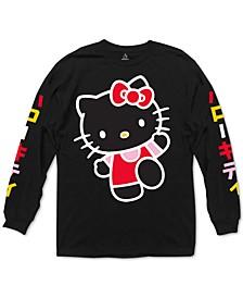 Hello Kitty Long-Sleeve Men's Graphic T-Shirt