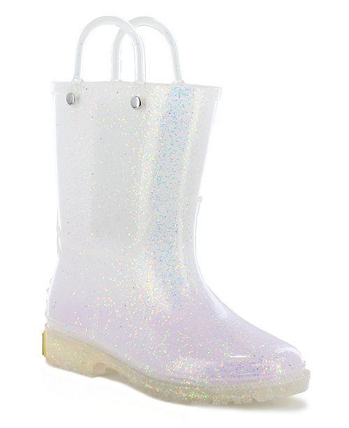 girls rain boots size 3