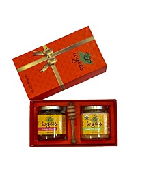Creamed Floral, Ginger and Logwood Honey Gift Set