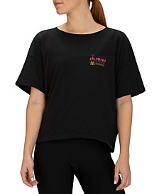 Record Cotton Graphic Relaxed T-Shirt