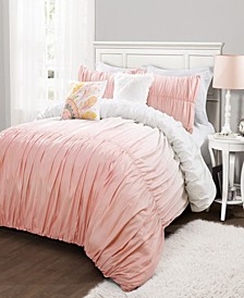Ombre Fiesta 5-Piece Full/Queen Comforter Set