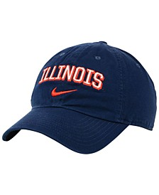 Illinois Fighting Illini H86 Wordmark Swoosh Cap