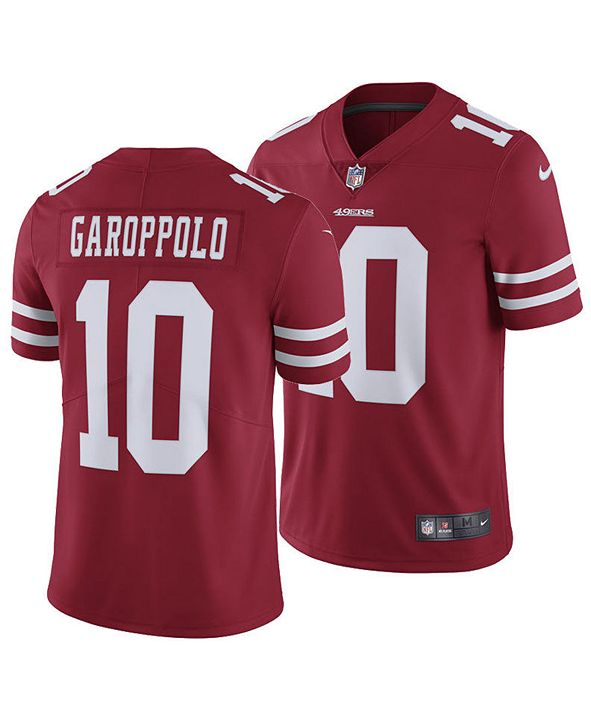 Nike Men's Jimmy Garoppolo San Francisco 49ers Vapor Untouchable Limited Jersey