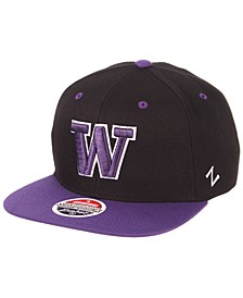 Washington Huskies Core Snapback Cap