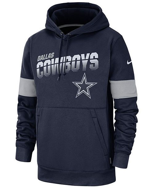 Nike Big Boys Dallas Cowboys Therma Hoodie