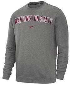 Men's Washington State Cougars Club Fleece Crewneck Sweatshirt