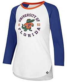 Women's Florida Gators Script Splitter Raglan T-Shirt
