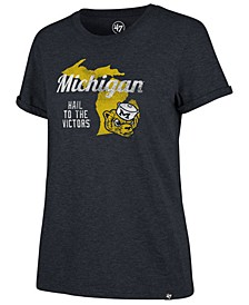 Women's Michigan Wolverines Regional Match Triblend T-Shirt
