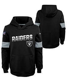 Big Boys Oakland Raiders Therma Hoodie