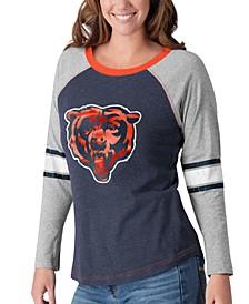 Women's Chicago Bears Long Sleeve Top Pick T-Shirt