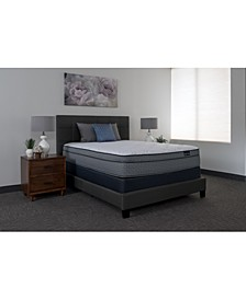 "Luxury Cadence 14.5"" Plush Euro Top Mattress Set- Full"