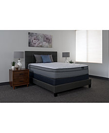 "King Koil Luxury Cadence 14.5"" Plush Euro Top Mattress- Twin"