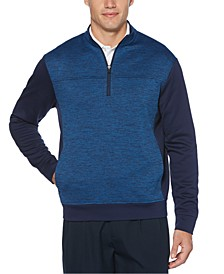 Men's Fleece Quarter-Zip Sweater