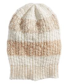 Cozy In Stripes Beanie Hat