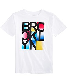 Big Boys Brooklyn-Print T-Shirt, Created For Macy's