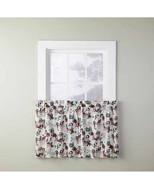 """Saturday Knight Santa Claus 24"""" Window Tier Pair"""